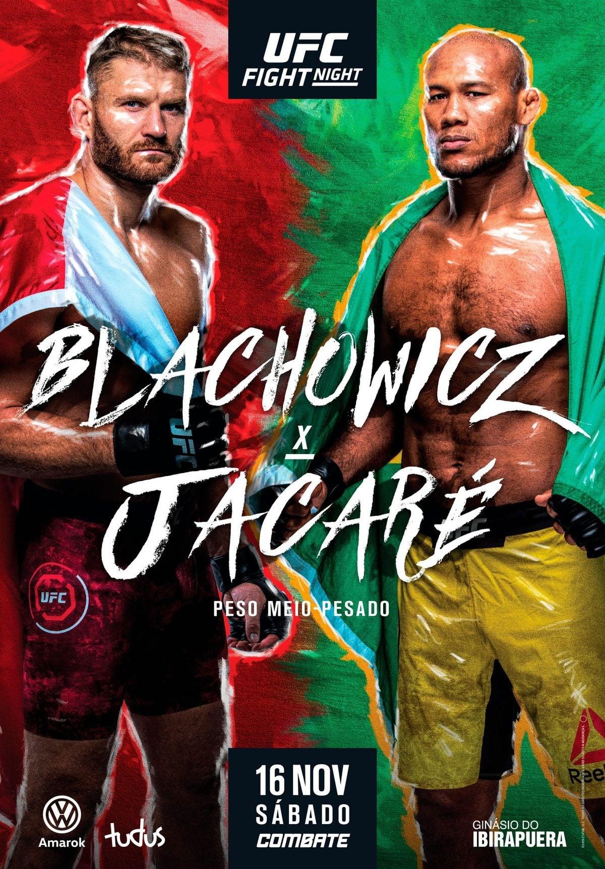 UFC Fight Night 164 - Blachowicz vs. Jacare