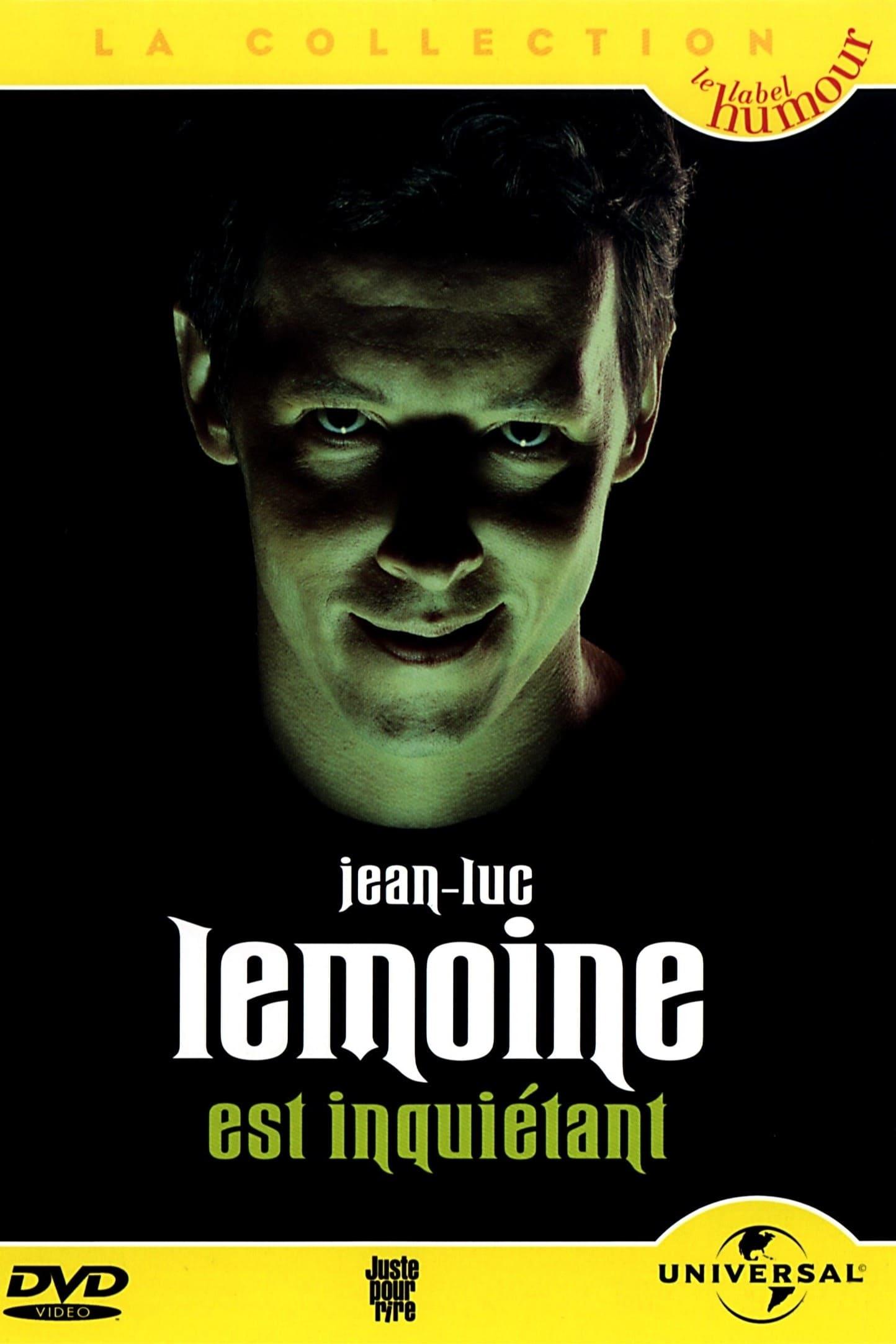 Jean-Luc Lemoine est inquiétant