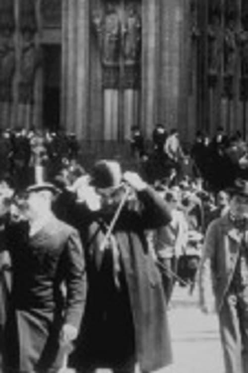 Cologne : sortie de la cathédrale