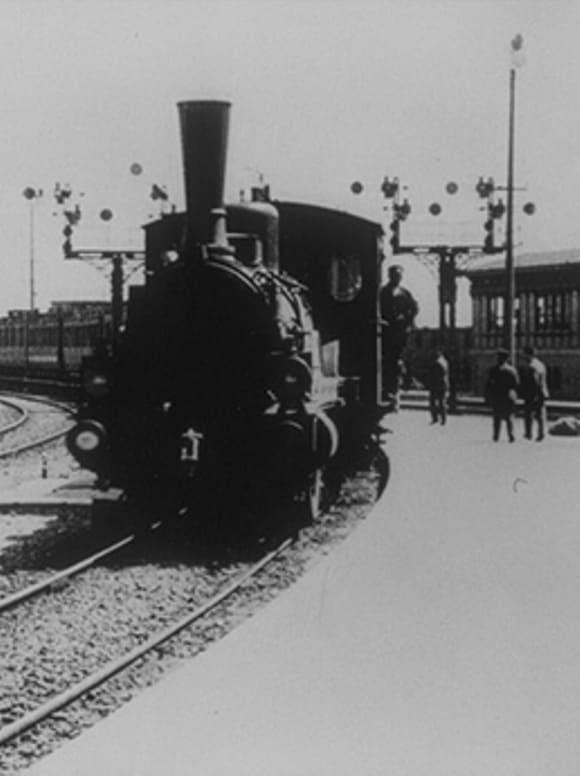 Cologne : arrivée de l'express