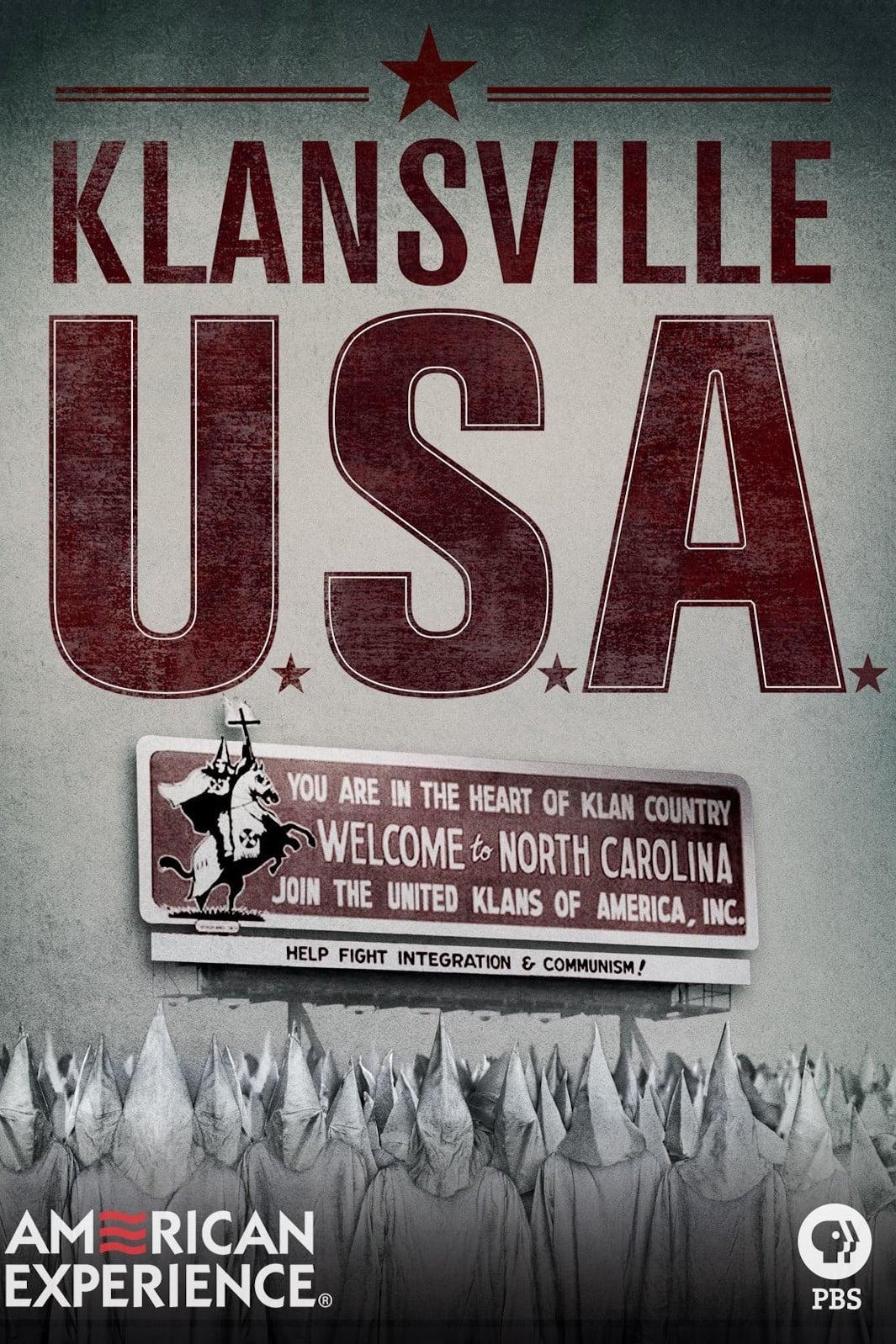 Klansville U.S.A.