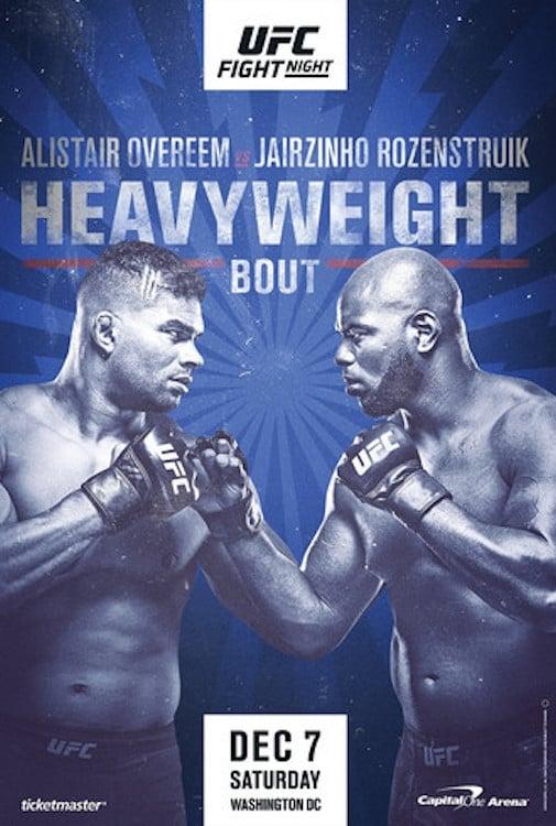 UFC on ESPN 7: Overeem vs. Rozenstruik