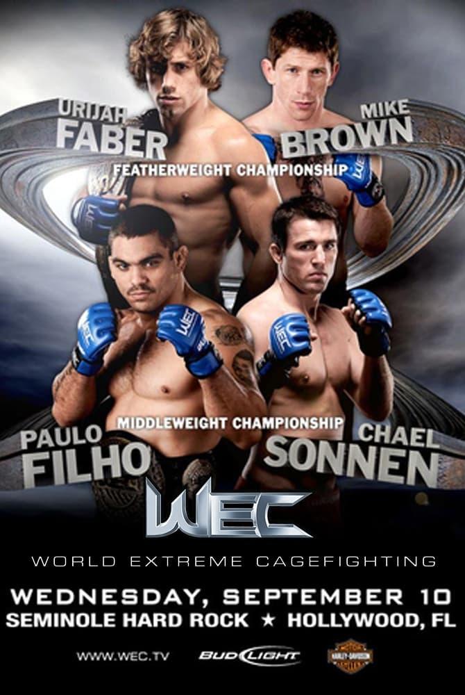 WEC 36: Faber vs. Brown