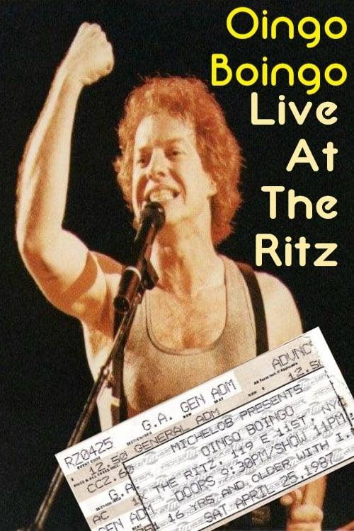 Oingo Boingo: Live At The Ritz