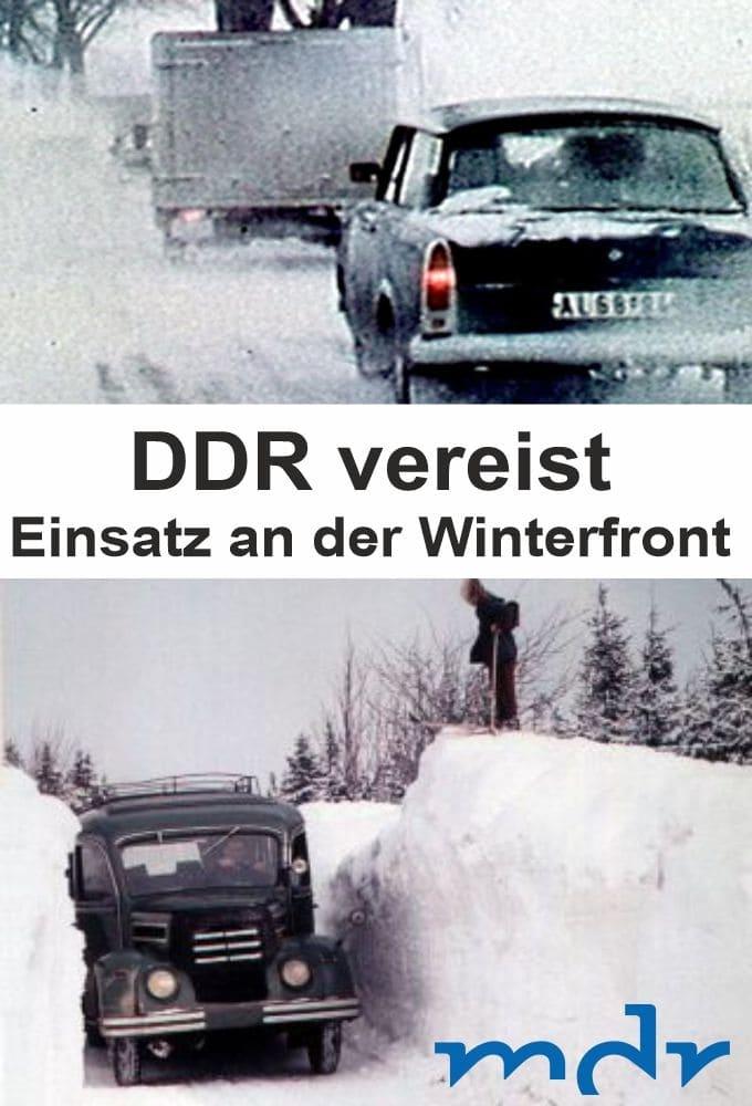 DDR vereist - Einsatz an der Winterfront