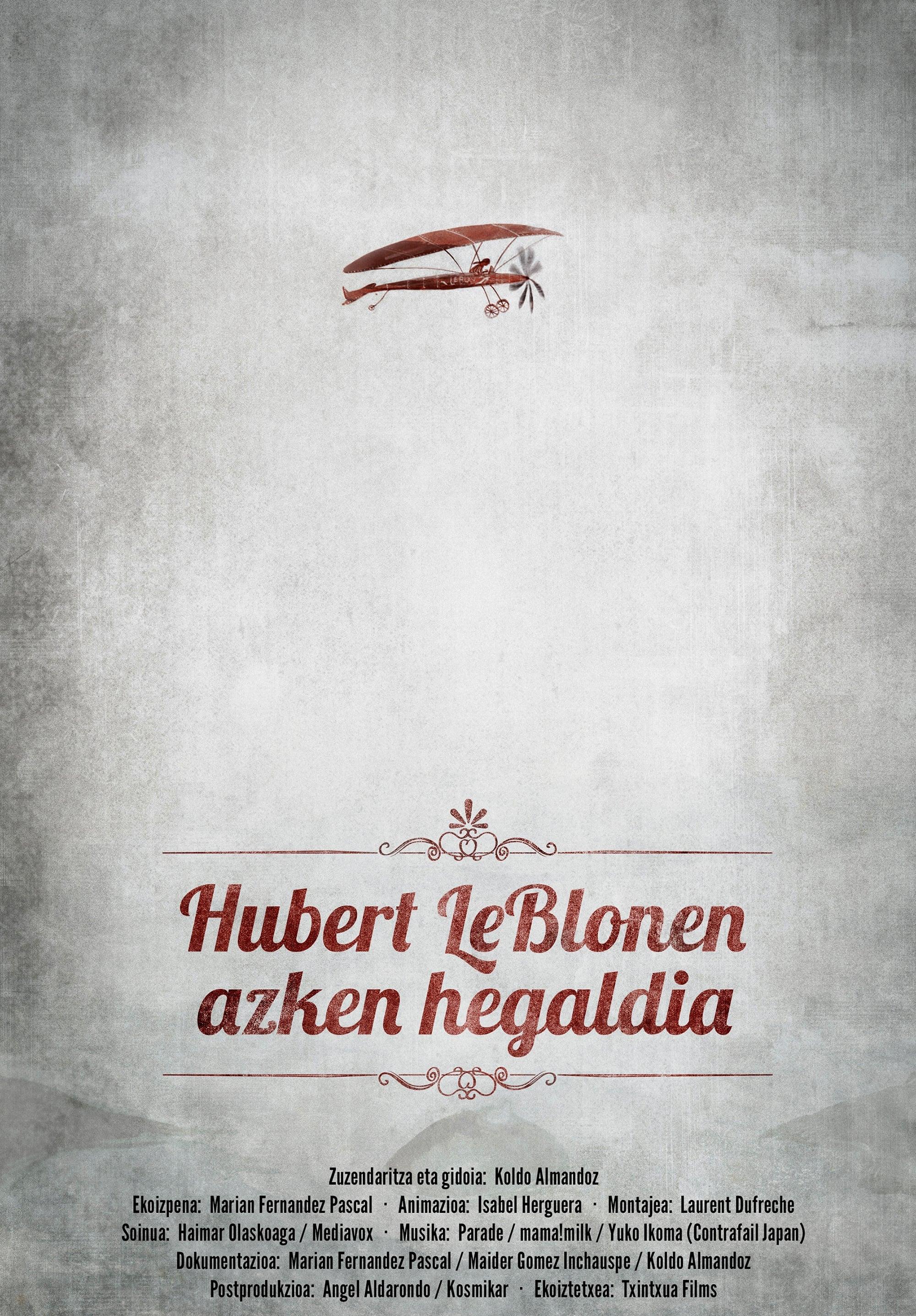 Hubert Le Blon's Last Flight