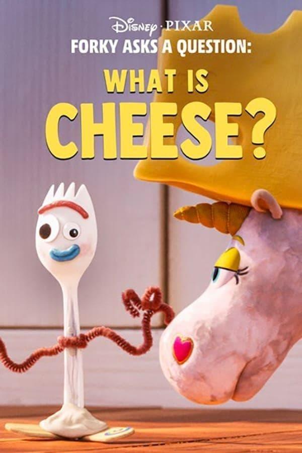 Forky hace una pregunta : ¿Que es el queso?