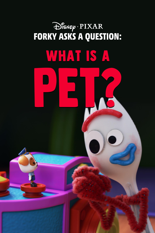Forky hace una pregunta : ¿Que es una mascota?