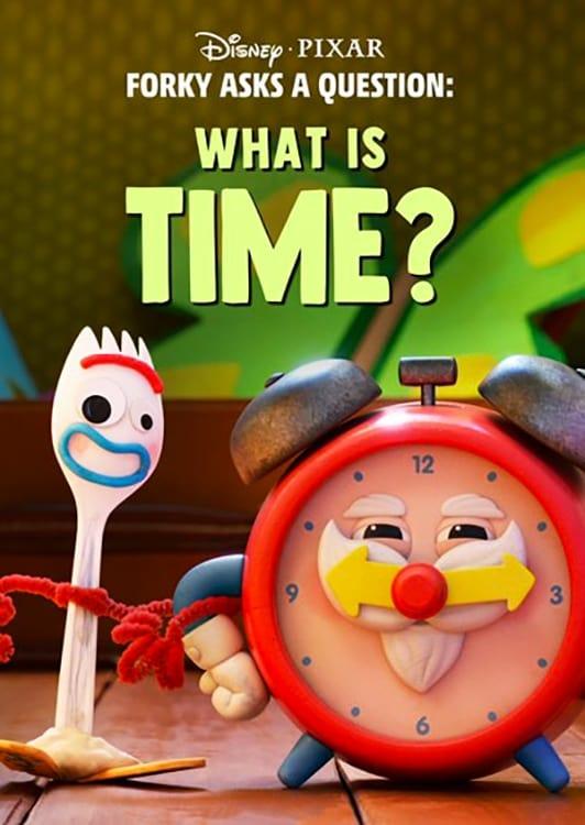 Forky hace una pregunta : ¿Que es el tiempo?