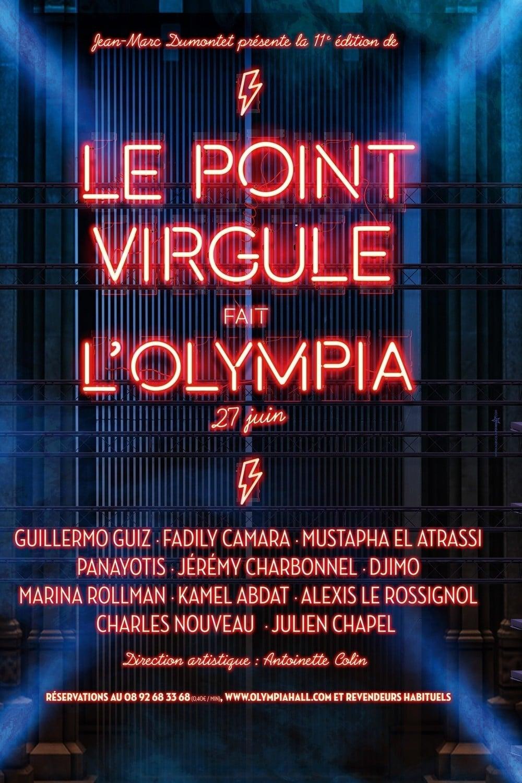 Le Point Virgule fait l'Olympia - 11e édition