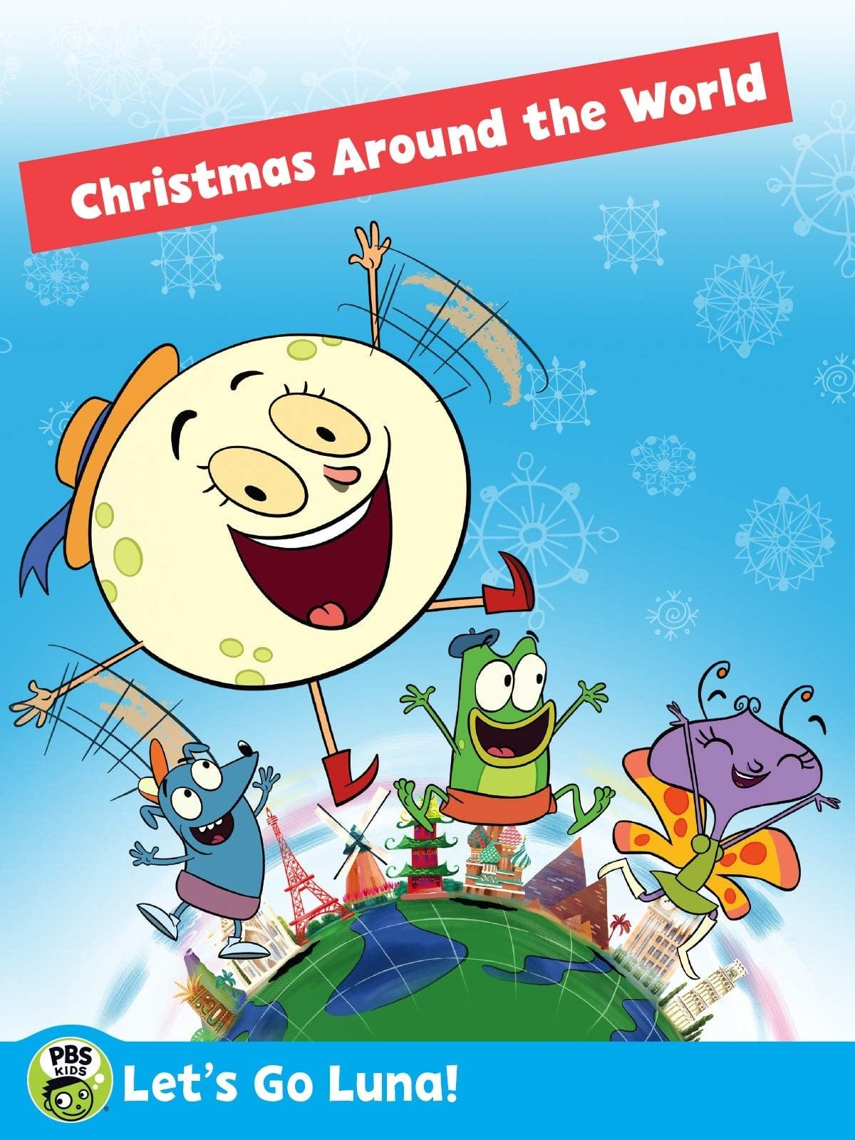 Let's Go Luna!: Luna's Christmas Around the World