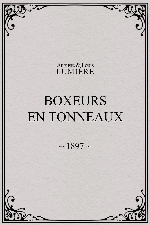 Boxers in Barrels
