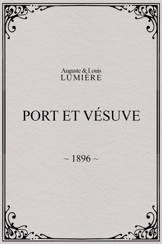 Port et Vésuve