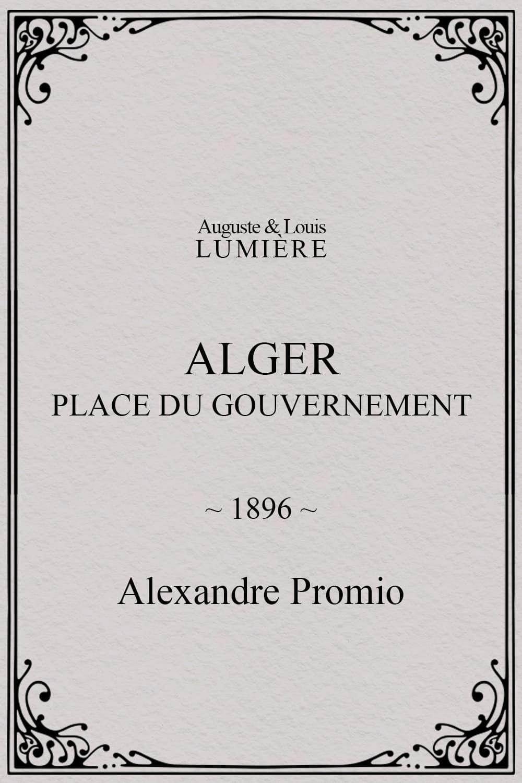 Alger : place du gouvernement