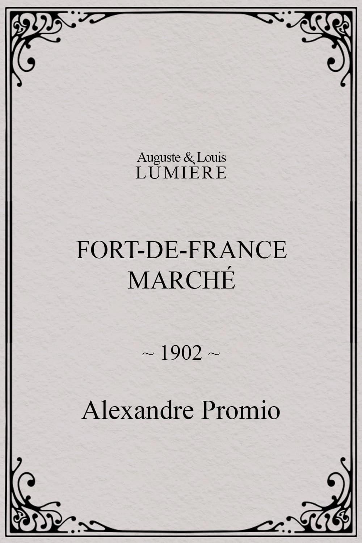 Fort-de-France : marché