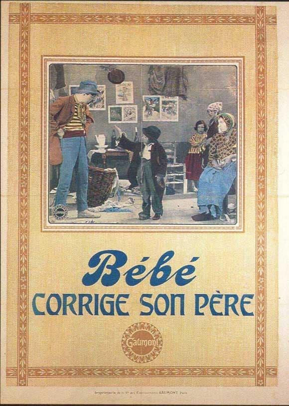 Bébé Corrects His Father