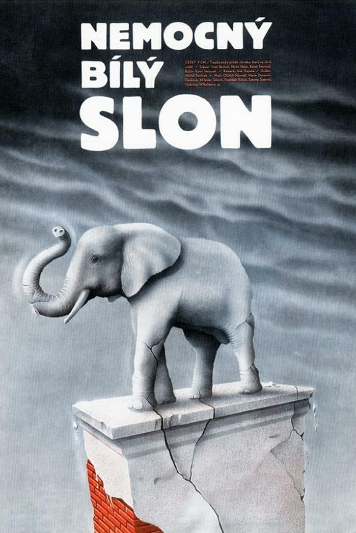 Nemocný bílý slon