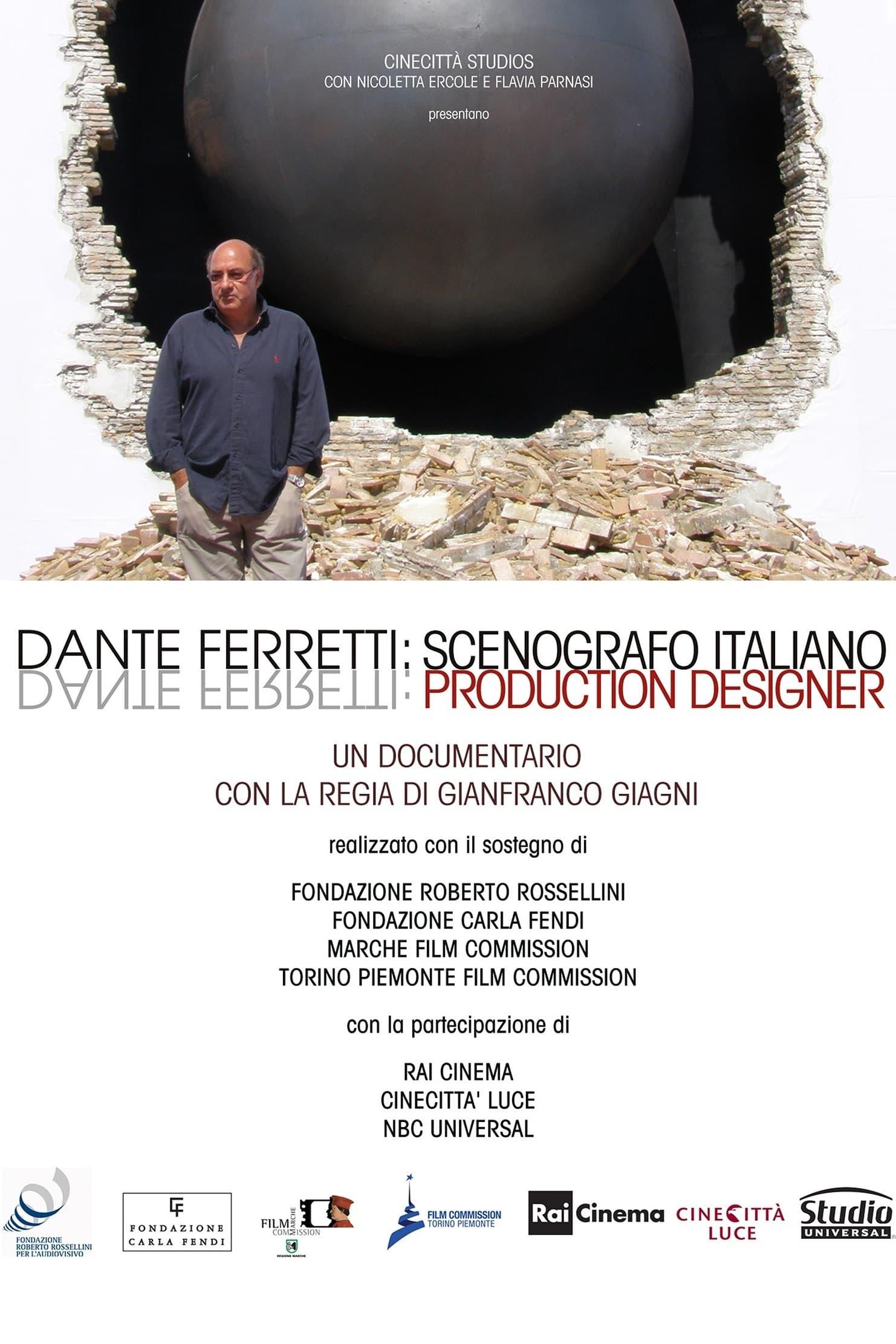 Dante Ferretti: Production Designer