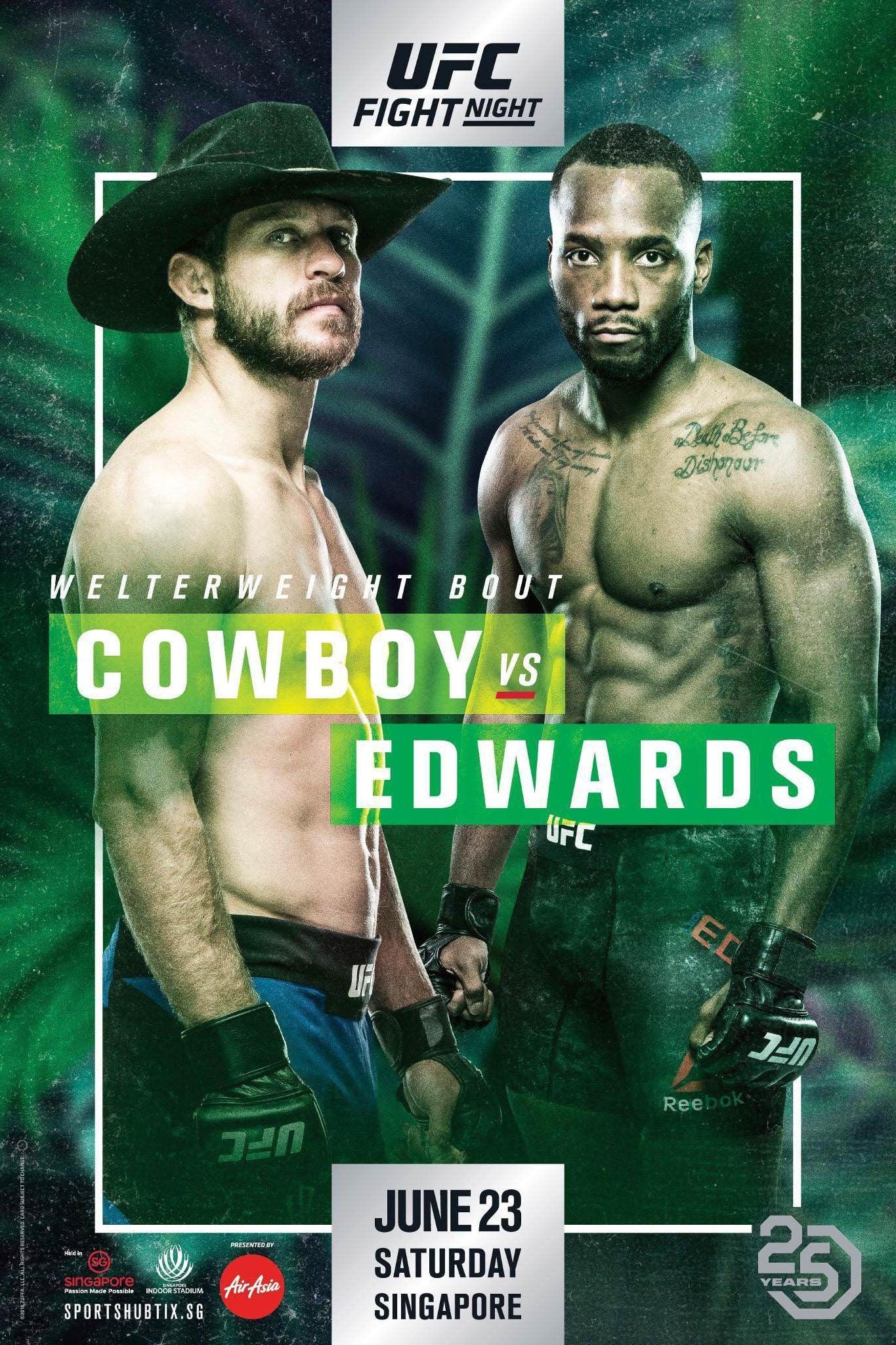 UFC Fight Night 132: Cowboy vs. Edwards