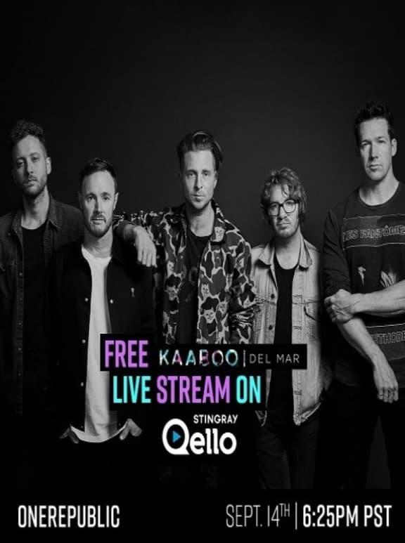 OneRepublic Live Kaaboo Del Mar Festival