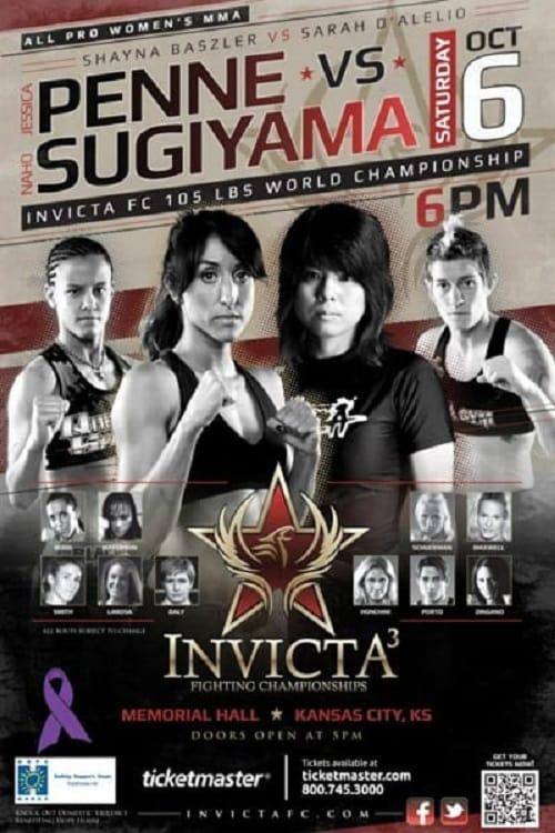 Invicta FC 3: Penne vs. Sugiyama