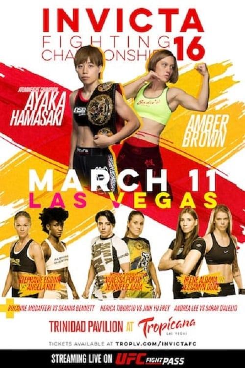 Invicta FC 16: Hamasaki vs. Brown