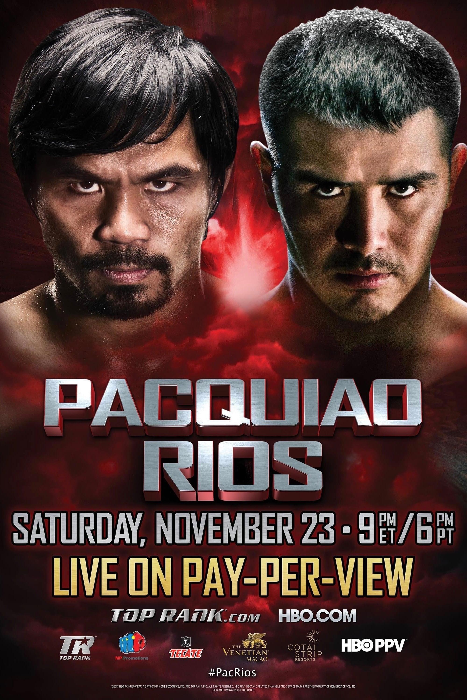 Manny Pacquiao vs. Brandon Ríos