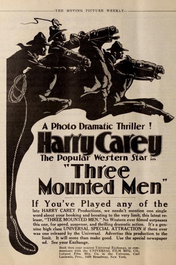 Three Mounted Men