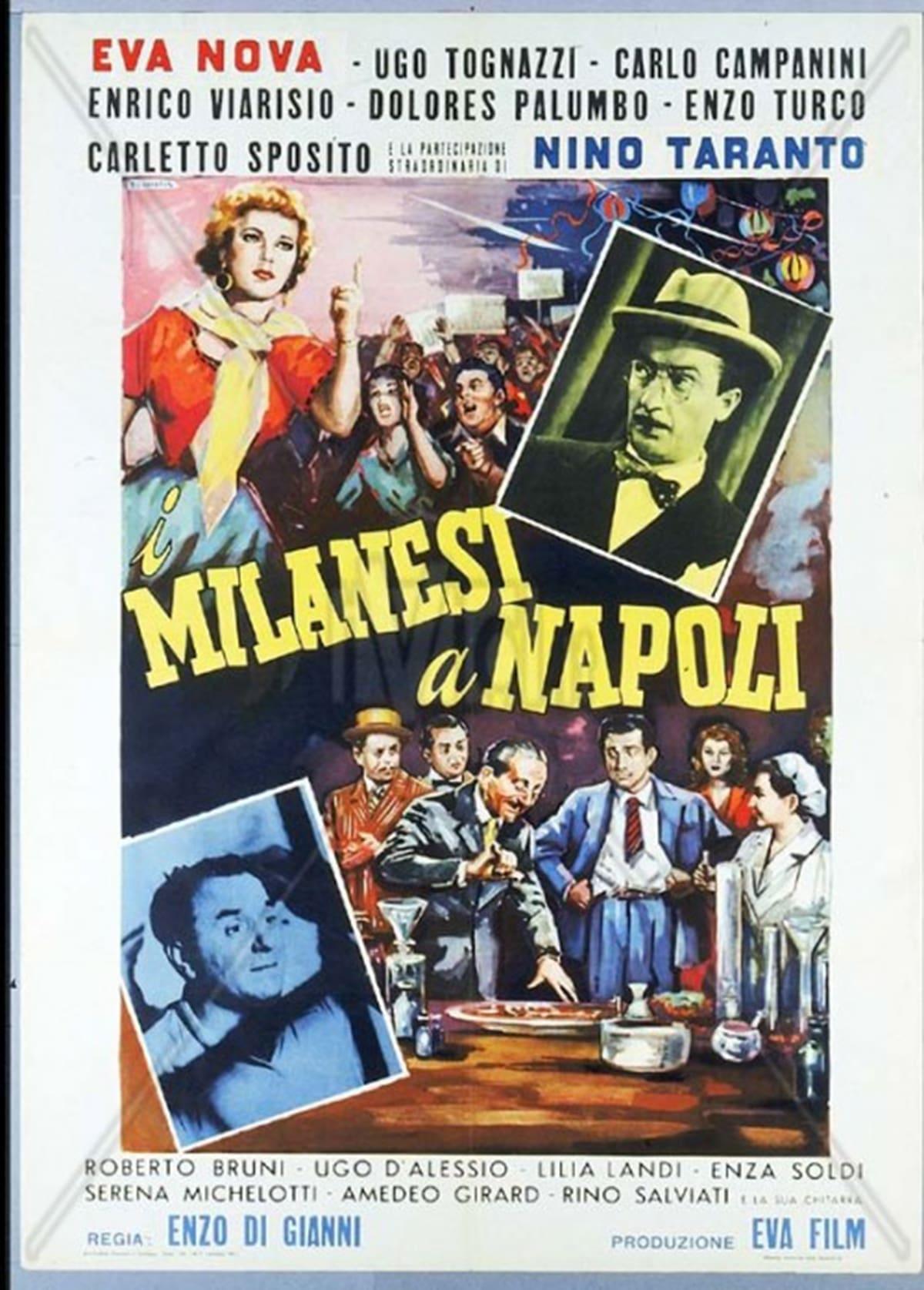 Milanesi a Napoli