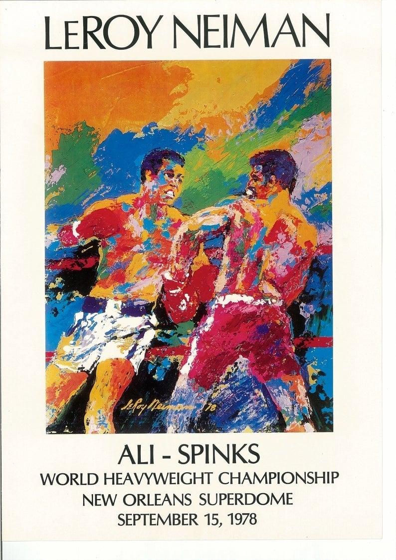 Leon Spinks vs Muhammad Ali II