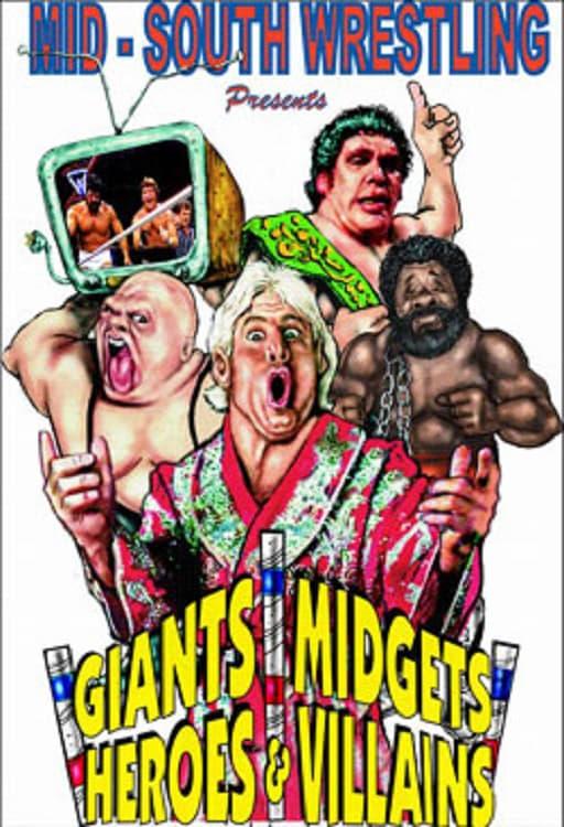 Mid-South Wrestling Giants, Midgets, Heroes & Villains