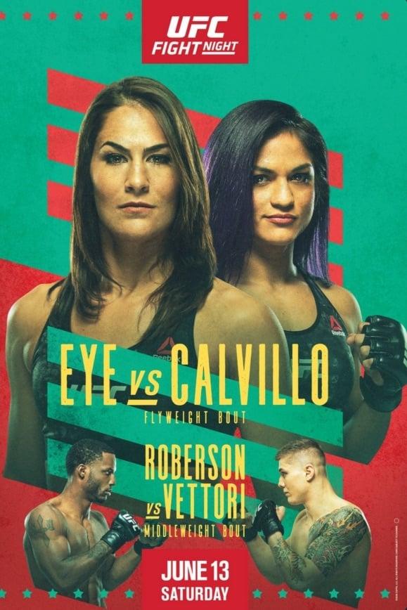 UFC on ESPN 10: Eye vs. Calvillo