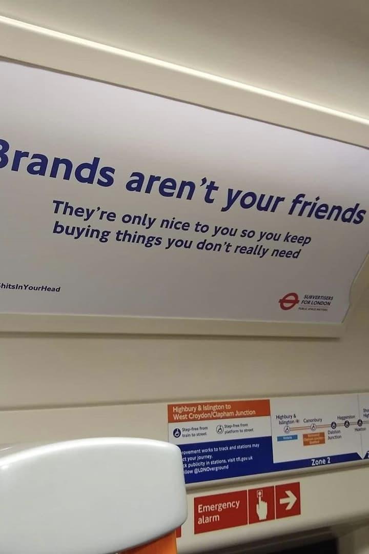 Subvertisers for London