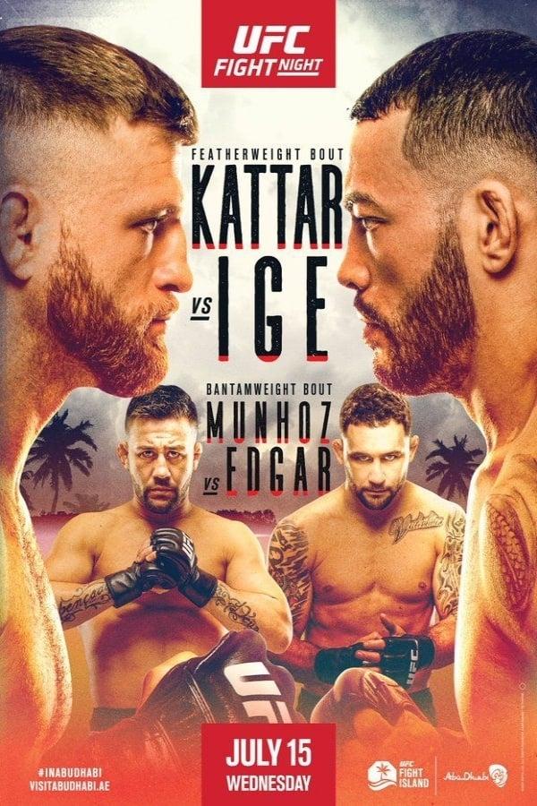 UFC on ESPN 13: Kattar vs. Ige