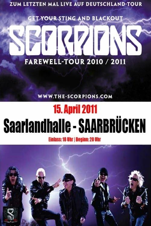 Scorpions - Live au Saarlandhalle Saarbrucken