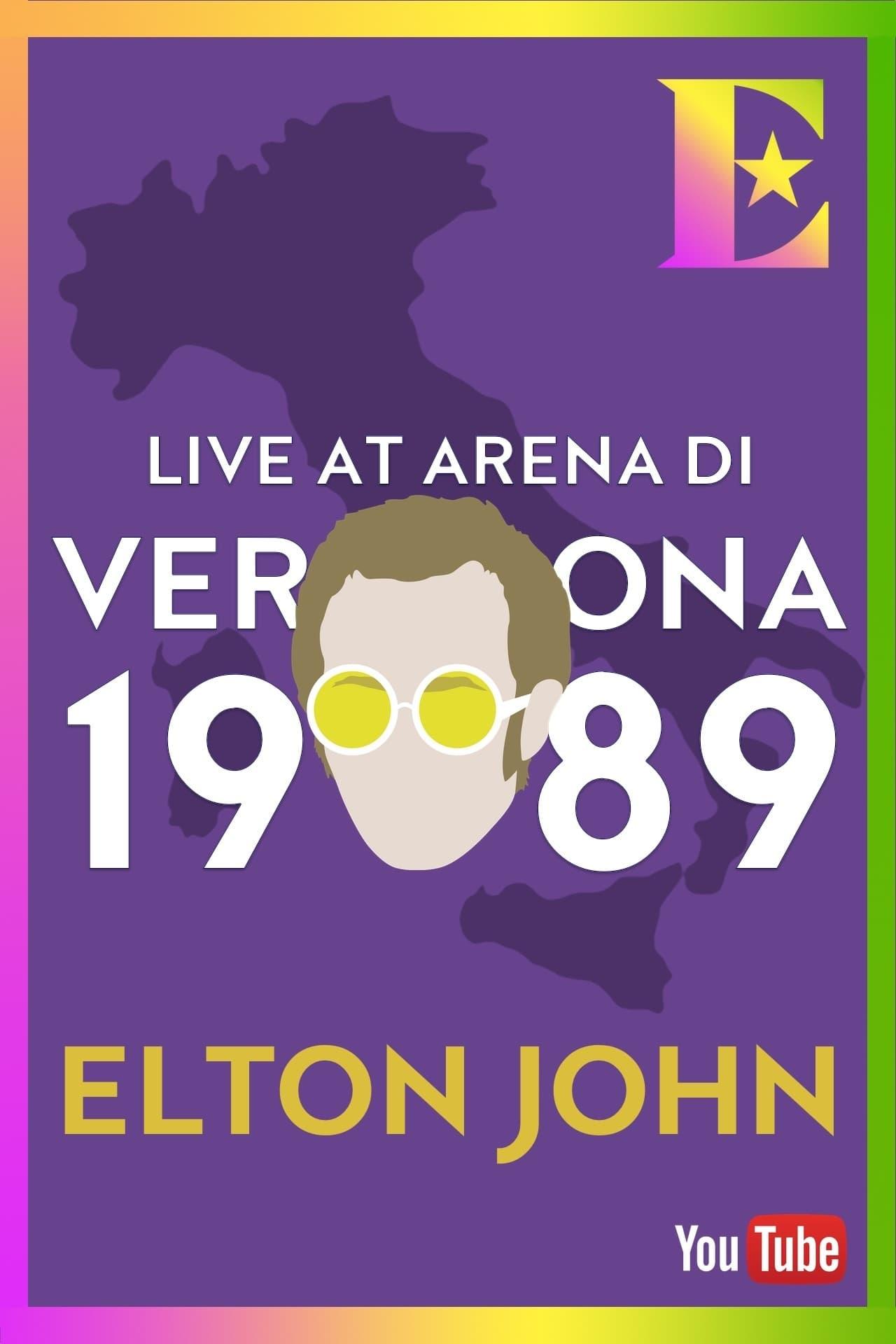 Elton John - Arena di Verona, Italy