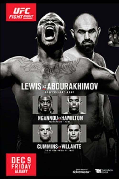 UFC Fight Night 102: Lewis vs. Abdurakhimov