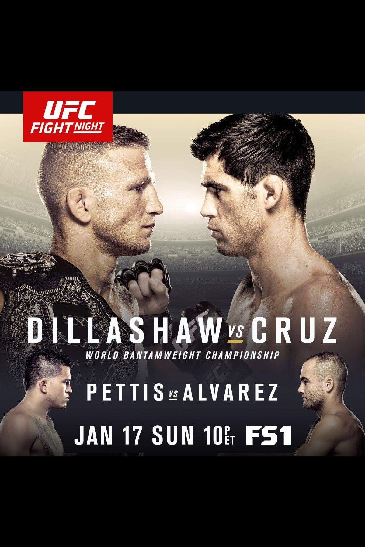 UFC Fight Night 81: Dillashaw vs. Cruz