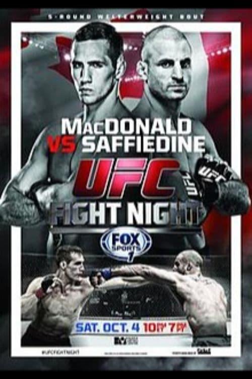 UFC Fight Night 54: MacDonald vs. Saffiedine