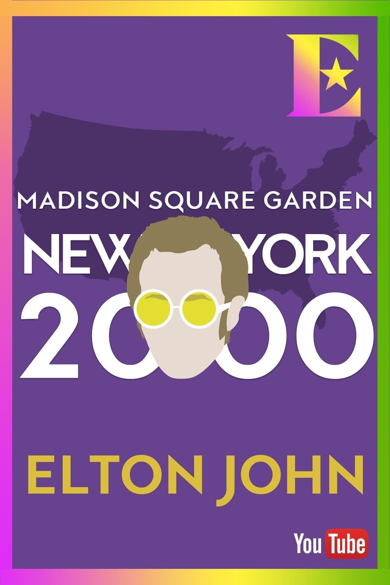 Elton John - Madison Square Garden