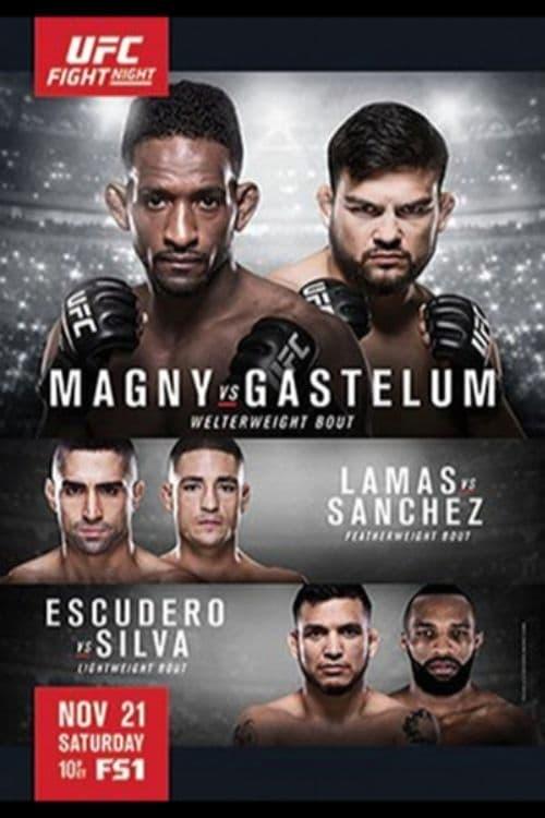 UFC Fight Night 78: Magny vs. Gastelum