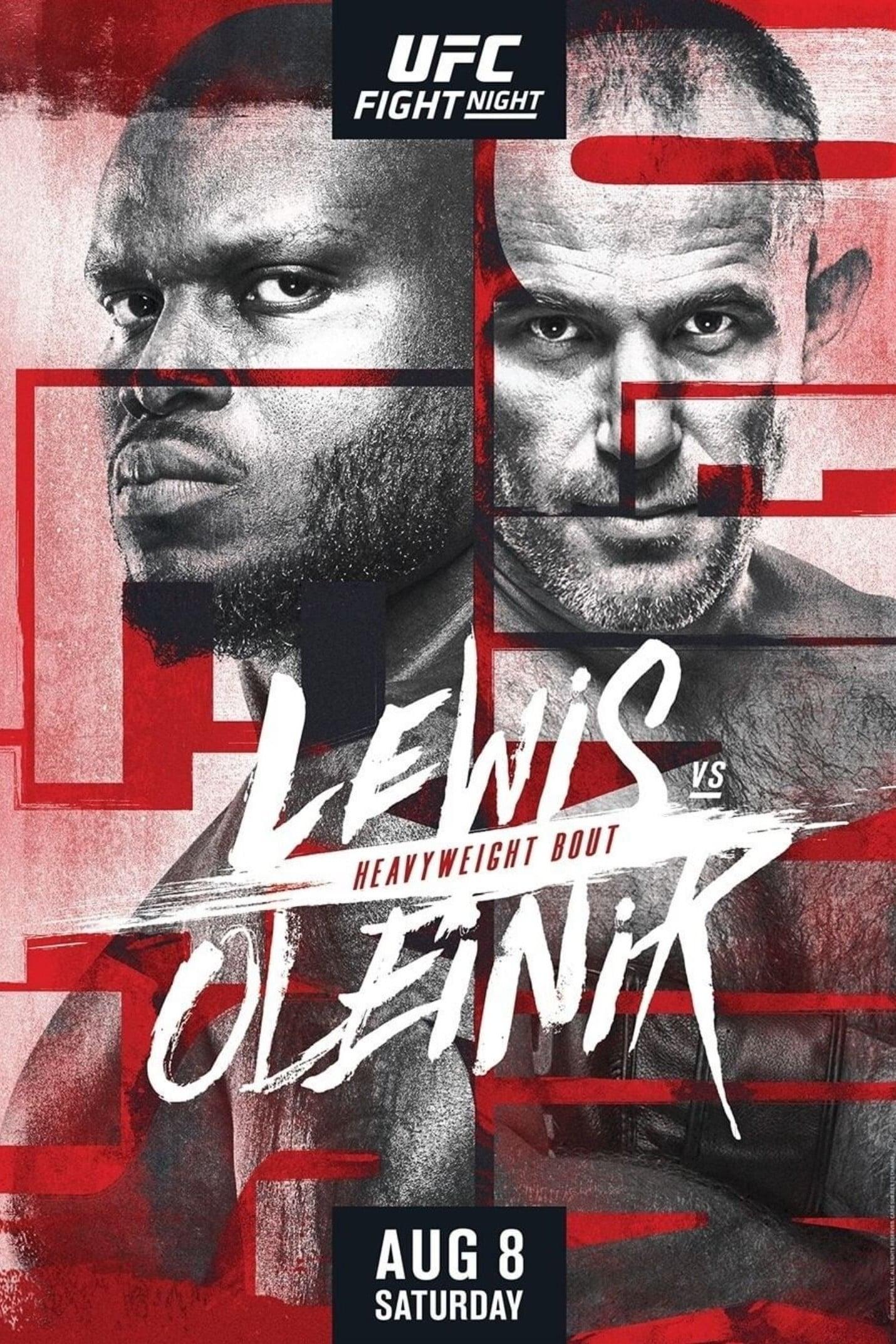 UFC Fight Night 174: Lewis vs. Oleinik