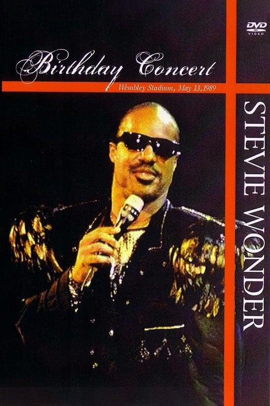 Stevie Wonder - Live at Wembley Stadium - London England 1989