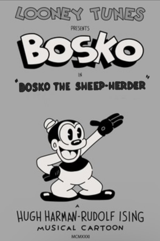 Bosko the Sheep-Herder