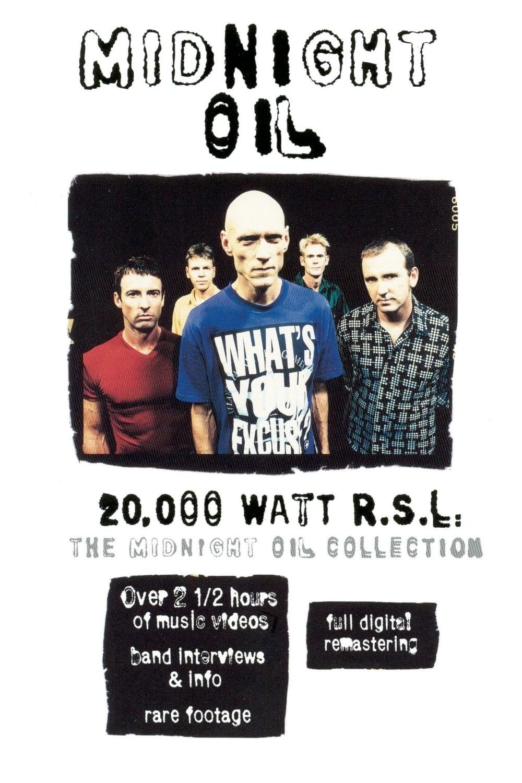 Midnight Oil: 20,000 Watt R.S.L.