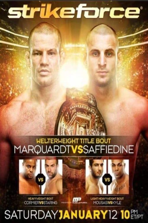 Strikeforce: Marquardt vs. Saffiedine