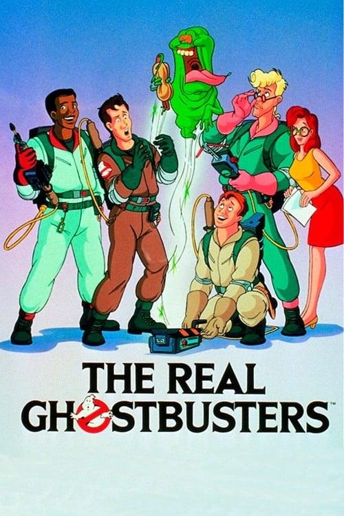Os Caça Fantasmas: Série Animada