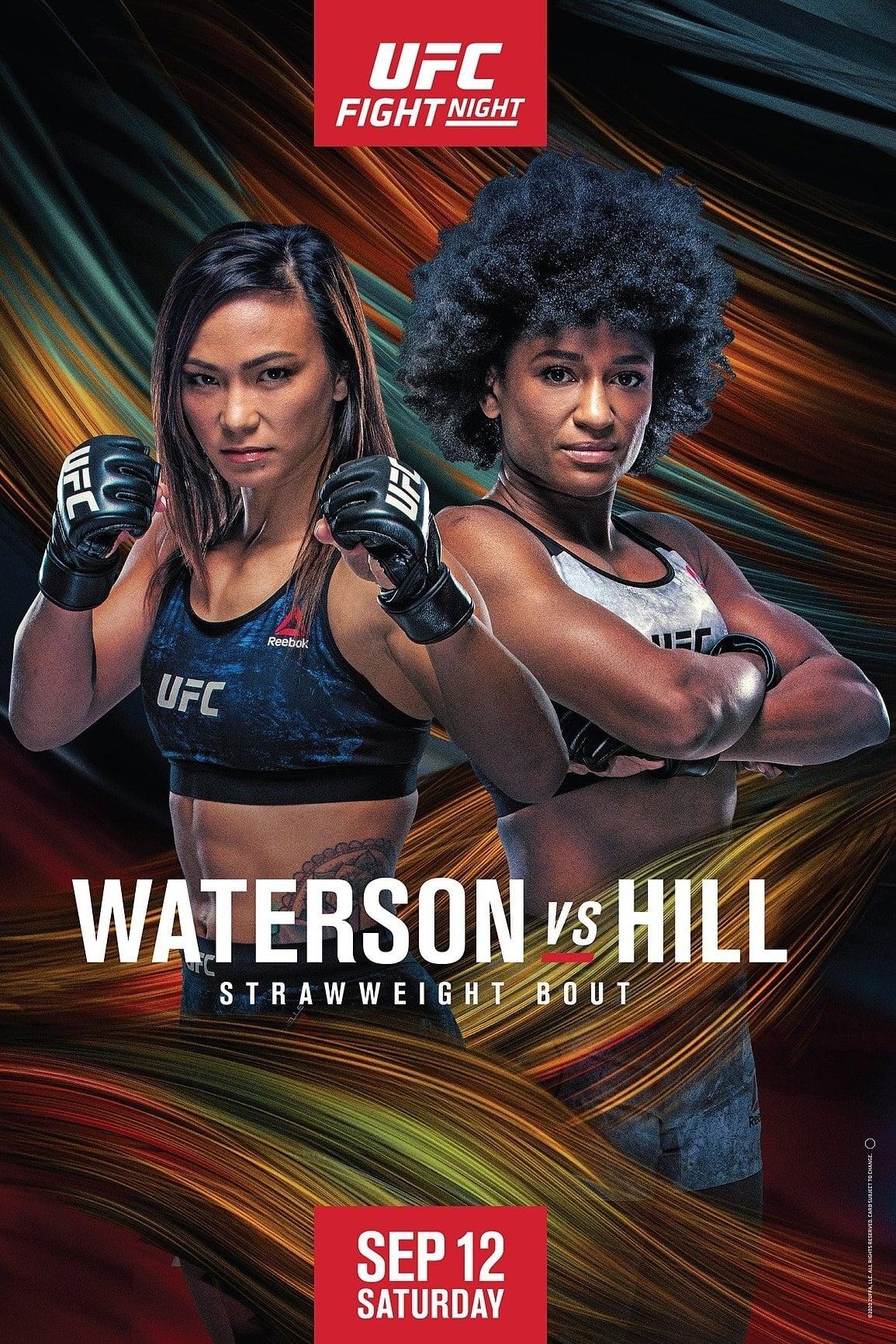 UFC Fight Night 177: Waterson vs. Hill