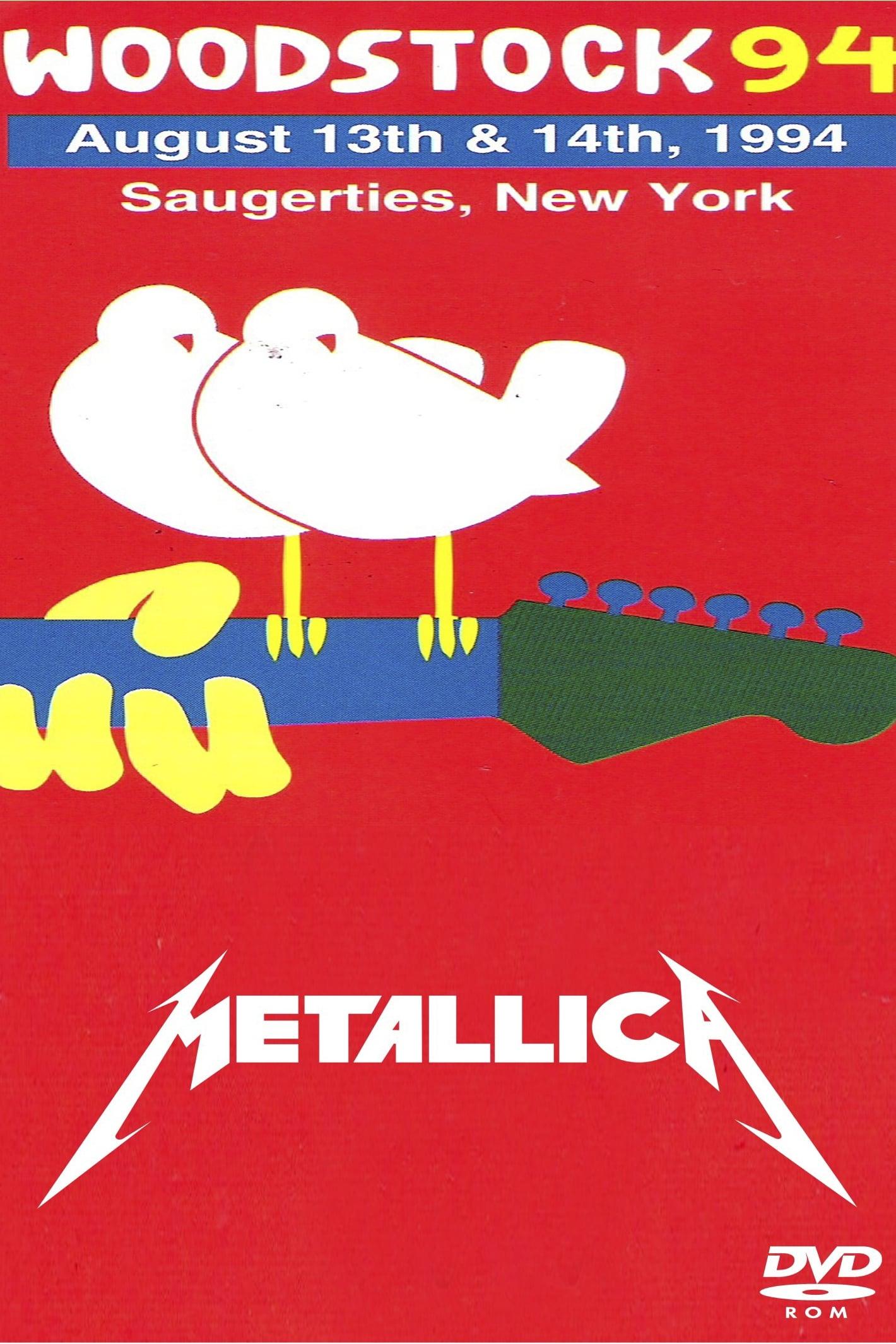 Metallica: [1994] Live at Woodstock