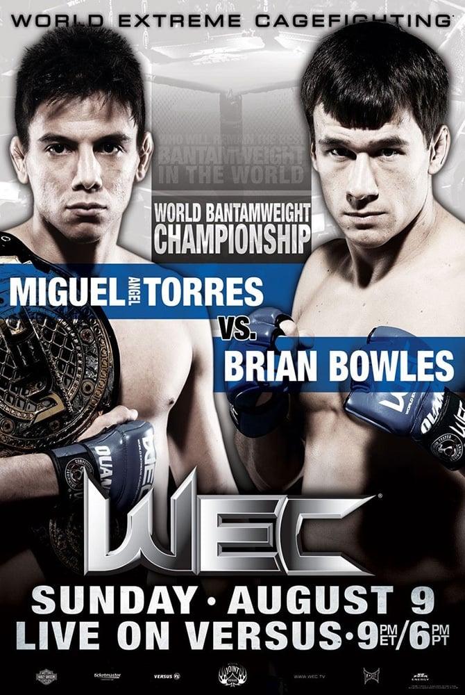 WEC 42: Torres vs. Bowles
